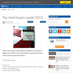 Business Analysis of the toy industry