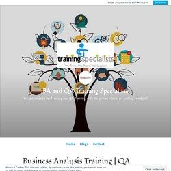 QA Training Classes – BA and QA Training Specialists