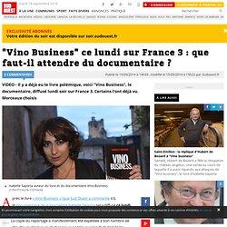 """""""Vino Business"""" ce lundi sur France 3 : que faut-il attendre du documentaire ?"""