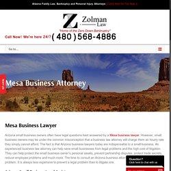 Mesa Business Attorney