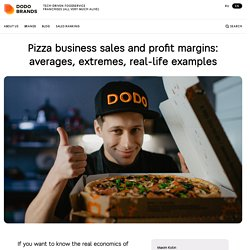 Pizza business sales and profit margins: averages, extremes, real-life examples