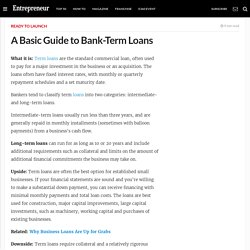 business - Bank-Term Loans