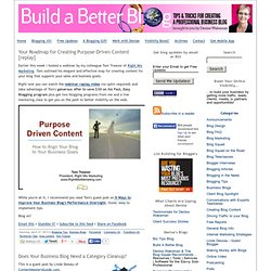 Business Blogging - How to Build A Better Blog