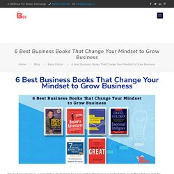 6 Best Business Books Of All Time That Change Your Mindset