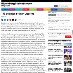 The Business Brain In Close-Up