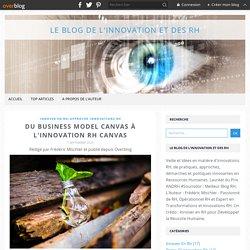 Du Business Model Canvas à l'Innovation RH Canvas