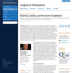 Business, society, and the future of capitalism