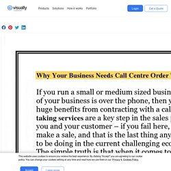 Why Your Business Needs Call Center Order Taking Services?