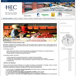 HEC - Business Certificate - Social business