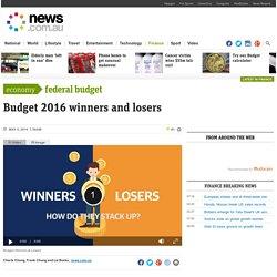 Federal Budget 2016 : news.com.au