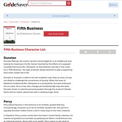 Fifth Business Characters