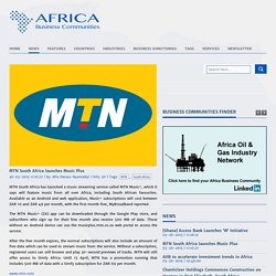 MTN South Africa launches Music Plus