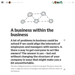 A business within the business — The Connected Company