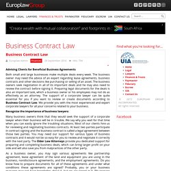 Business Contract Law