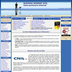 Business Internet - CNIL, COPYRIGHT, ICRA les sites à connaitre pour créer des sites internet