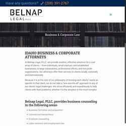 Corporate Attorneys Boise