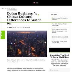 Doing Business in China: Cultural Differences to Watch for