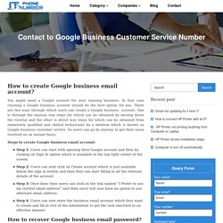 Google business Customer Service–Get the best of your Business account