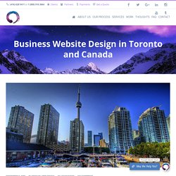 Business Web Design in Toronto Canada