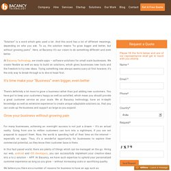 Custom Business Mobile / Web Apps Development Service