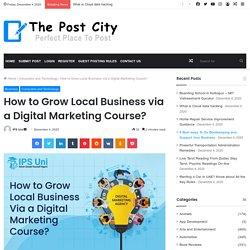 How to Grow Local Business via a Digital Marketing Course?