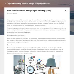 Boost Your Business with the Right Digital Marketing Agency