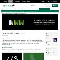 UK Business Digital Index 2015