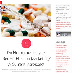 Multi-channel advertising for pharma