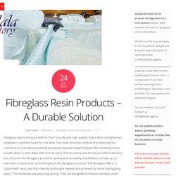 Fiberglass resin: Different types of composite materials