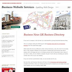 Business News UK Business Directory