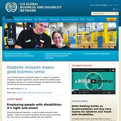 ILO Global Business and Disability Network