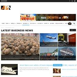 Latest Indian Economy News- APN Live