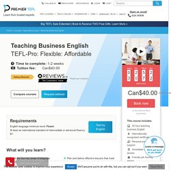 Business English Course Online