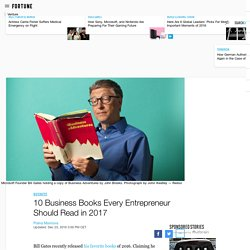 10 Business Books Every Entrepreneur Should Read in 2017