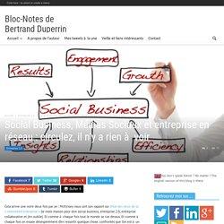 Social Business, Medias Sociaux et entreprise : la stagnation