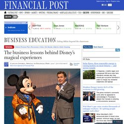The business strategy behind Disney's magical experiences