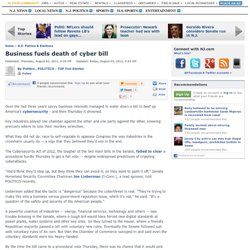 Business fuels death of cyber bill