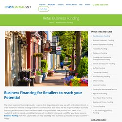 Best Retail Business Funding