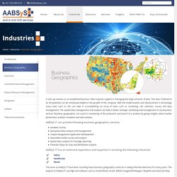 GIS for Business Geographics at AABSyS