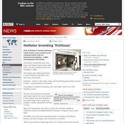 Hollister branding 'fictitious'
