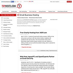 Small Business Hosting - Find Small Business web hosting providers at Tophosts
