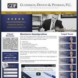 business Immigration attorney in Arizona handling Issues