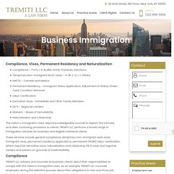 Apply Business Immigration Attorney in NY