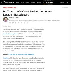 It's Time to Wire Your Business for Indoor Location-Based Search