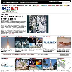 Space Business and Industry News at SpaceMart.com