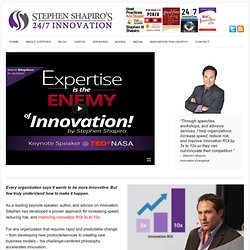 Business Innovation Speaker, Author and Consultant: Stephen Shapiro