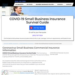 COVID-19 Small Business Insurance Survival Guide