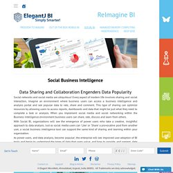 Social Business Intelligence Tool - ElegantJ BI