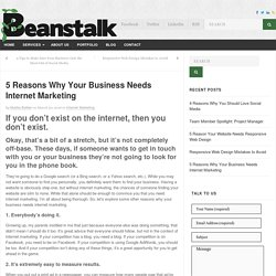 5 Reasons Why Your Business Needs Internet Marketing