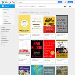 Business & investing - Books on Google Play
